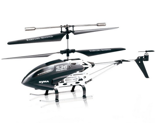 REH-TS36 2.4G 3CH RC Fighter Helicopter with Gyro and Flashing lights