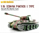 1:16 German Panther G Type Airsoft RC Tank-upgraded metal version