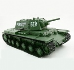 1:16 Russian KV-1's Ehkranami Airsoft RC Battle Tank Sound & Smoking