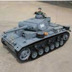 1:16 Remote control tank--PANZERKAMPFWAGEN III with smoking , sound and lights