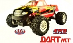 1/18 scale RTR 4wd brushless monster truck-DART-MT