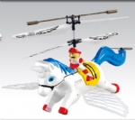 REH-TS2 New 3CH I/R Control Flying Horse With Gyro and Flashing lights