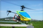 REH-TF48 2.4G 4CH Single-blade 3-Axis helicopter with 3D Flybarless Propeller and LCD Controller