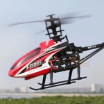 REH-TF46 2.4G 4ch single blade rc helicopter with servo & LCD screen