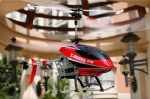 REH-TT10 3 channel alloy RC helicopter with gyro