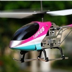 REH-TT38 3 channel mini alloy RC helicopter with gyro