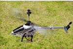 REH-TT04 3 channel alloy RC helicopter with gyro & Full Flight & LED Color Light