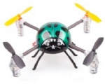 REU-TF552 RC 2.4G 4CH 4-Axis Mini Stunt Quadcopter with Flashing Lights and Gyros