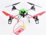REU-TF999 2.4G 4CH 4-axis Basket-lifting Remote Control UFO and LCD transmitter