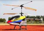 REH-TT23 68CM Big 3 Channel Alloy Remote Control 3D Helicopter With LCD Transmitter