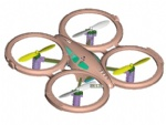 REU-TF896 Small 2.4G RC quadcopter