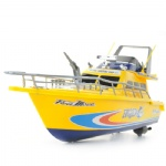 1:25 high speed remote control fire fighting boat